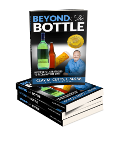 Amazon Bestseller- Beyond the Bottle by Clay Cutts. Addiction Recovery.